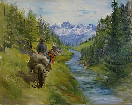 Trail Ride by Jill Holt