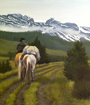 Trail Ride by Tammy  Taylor