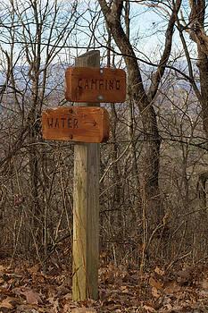 Paul Rebmann - Trail Sign #1