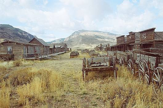 Trail Town Wyoming by Brent Easley