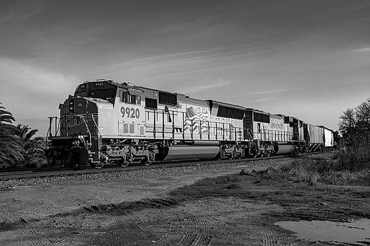 Bruce Bottomley - Train 9920 BW
