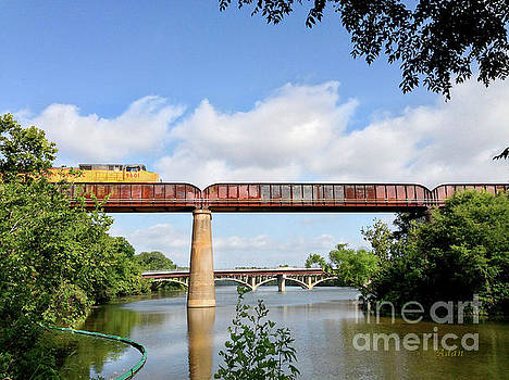 Felipe Adan Lerma - Train Across Lady Bird Lake