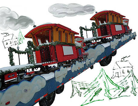 Train Crossing the Country by Dominique Fortier