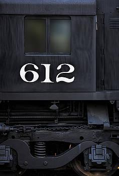 Train Engine 612 by Steve Siri