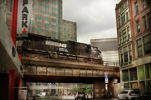 Mike Savad - Train - Pittsburg Pa - The industrial city
