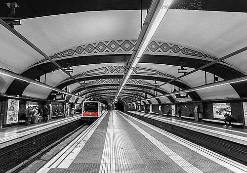 Train by Sergey Simanovsky