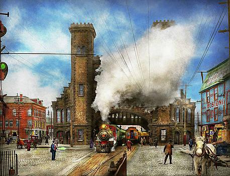 Mike Savad - Train Station - Boston and Maine Railroad Depot 1910