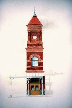 Train Station Tower by William Renzulli