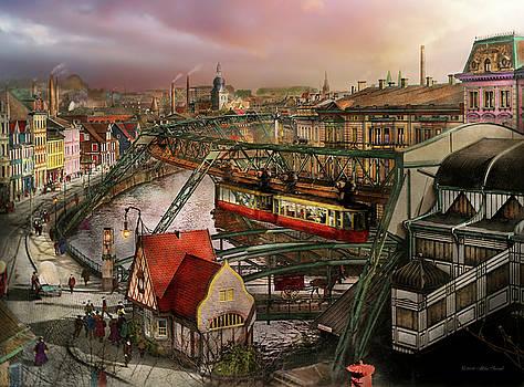 Mike Savad - Train Station - Wuppertal Suspension Railway 1913