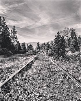 Train tracks by JoAnn Lense