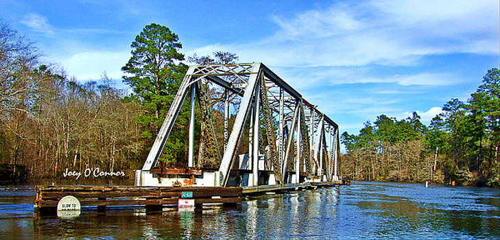 Train Trestle Over The Waccamaw by Joey OConnor