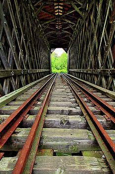 Train Tunnel by Brian Pflanz