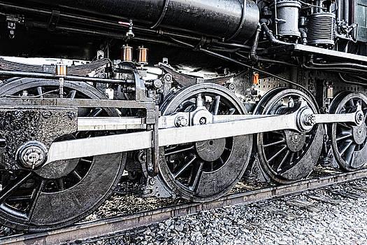 Sharon Popek - Train Wheels