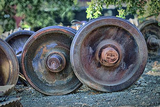 Train Wheels by Steve Siri