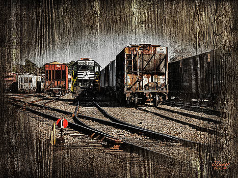 Train Yard by Jim Ziemer