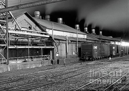 Train Yard by Matthew Turlington