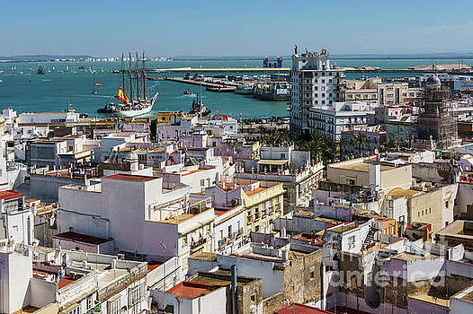 Training Tall Ship Elcano Departing Cadiz Spain by Pablo Avanzini