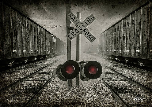 Trains Crossing by Jim Ziemer