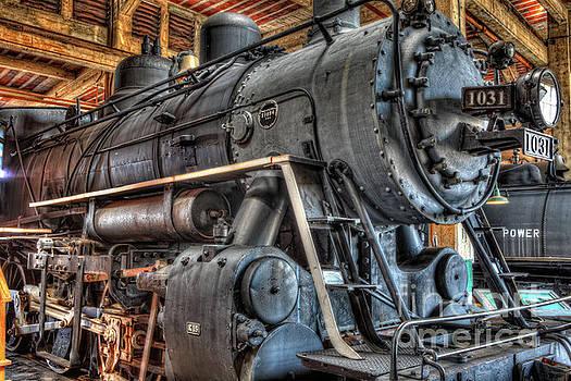 Trains - Steam Locomotive 1031 side by Dan Carmichael