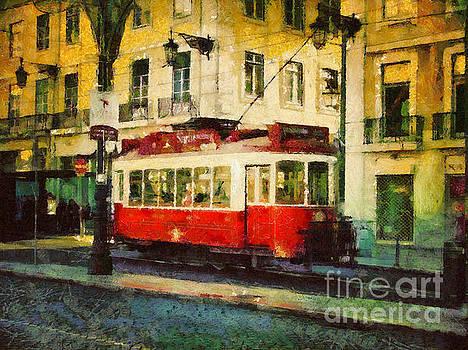 Dimitar Hristov - Tram in Lisbon