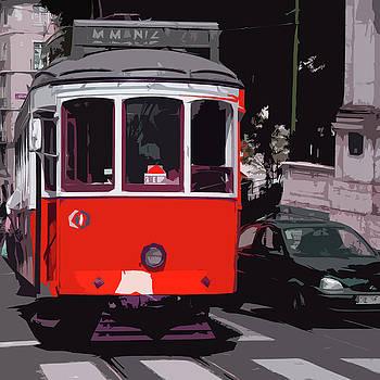 James Hill - Tram in Lisbon