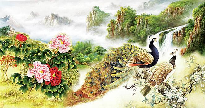 Tranh phong thuy by Tuan Ngo Minh