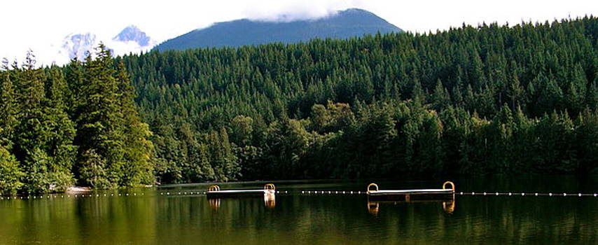 Tranquil Alice Lake by Caroline Reyes-Loughrey