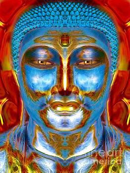 Tranquil Buddha by Khalil Houri