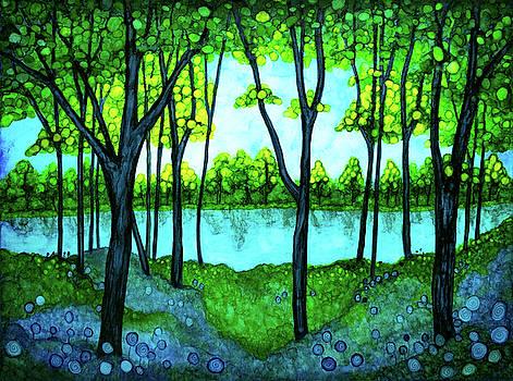 Tranquil Forest by Jennifer Allison
