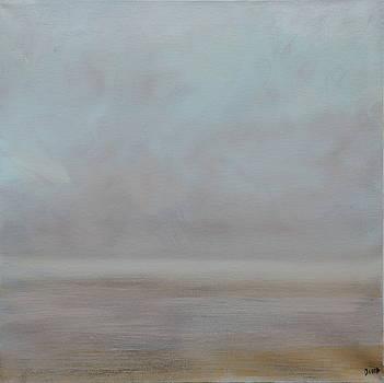 Tranquil Maine Mist by David King Johnson