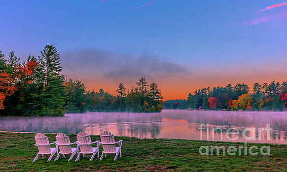 Tranquil morning at the pond by Claudia M Photography