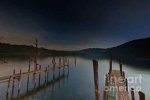 Tranquility at Atitlan by Volker Ahrens