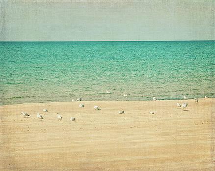 Tranquility at Lake Michigan by Emily Kay