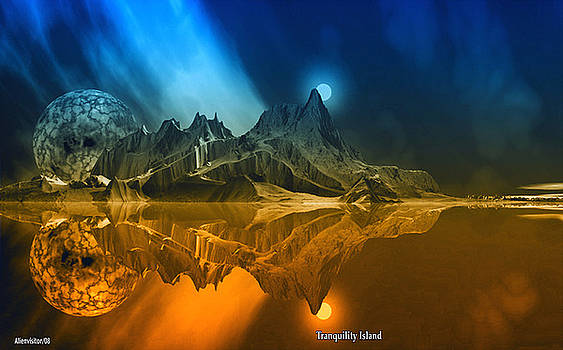 Tranquility Island. by David Jackson