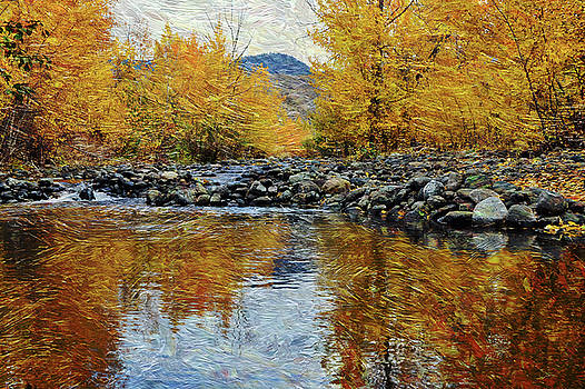 Tranquille Creek # 1 by Ed Hall