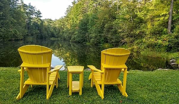 Tranquilty Pond by Bill Morgenstern