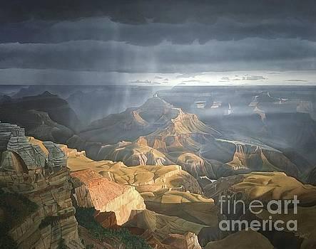 Transcendent Golden Dawn by Jerry Bokowski