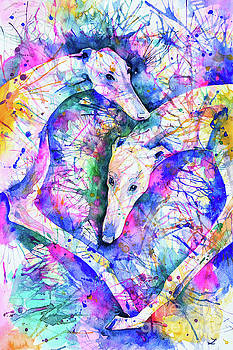 Zaira Dzhaubaeva - Transcendent Greyhounds