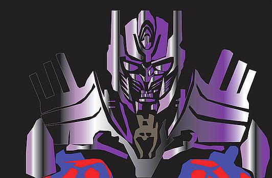 Transformer Optimus by Michael Chatman