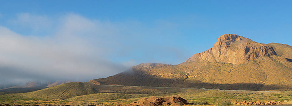 Transmountain Road Panorama by Steven Green