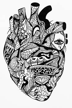 Transparent Heart by Kenal Louis