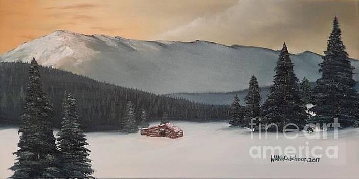 Trapper's Cabin by William McCutcheon