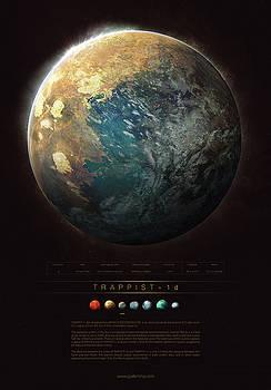 TRAPPIST-1d by Guillem H Pongiluppi