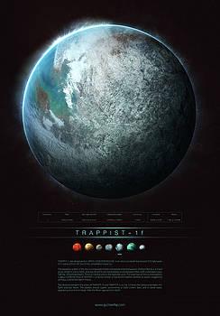 TRAPPIST-1f by Guillem H Pongiluppi