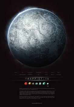 TRAPPIST-1h by Guillem H Pongiluppi