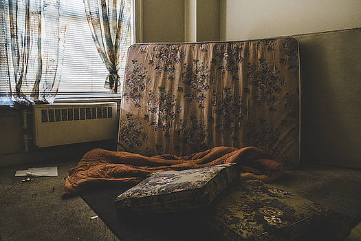 Trashed Abandoned Hotel Room by Dylan Murphy