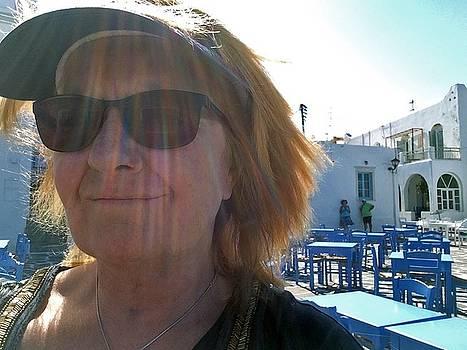 Colette V Hera  Guggenheim  - Travel to Paros Island Greece