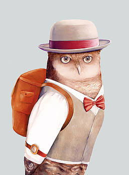 Travelling Owl by Animal Crew