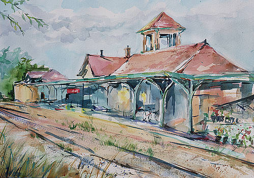 Traverse City Train Depot by Adam VanHouten