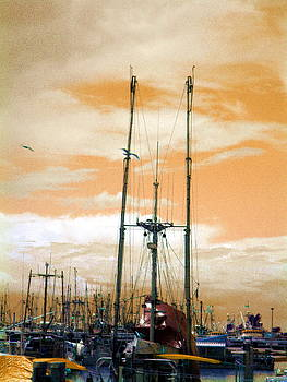 Ming Yeung - Trawlers at Dawn